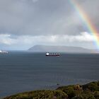 Rainbow over King George Sound, Albany by mncphotography