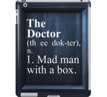 The Doctor Dictionary iPad Case/Skin