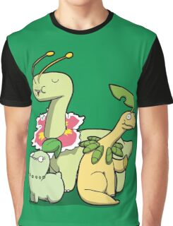 Leafy Dino's Graphic T-Shirt