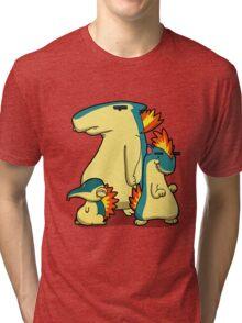 Three Flaming Weasels Tri-blend T-Shirt