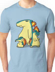 Three Flaming Weasels Unisex T-Shirt