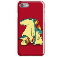 Three Flaming Weasels iPhone Case/Skin
