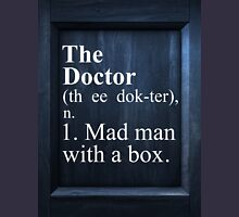 The Doctor Dictionary Unisex T-Shirt