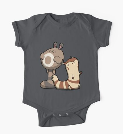 Chubby Ferrets One Piece - Short Sleeve