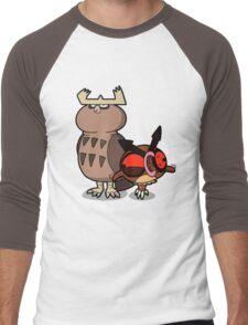 Owl mess you up! Men's Baseball ¾ T-Shirt