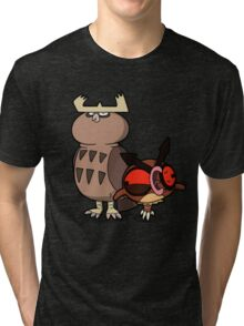 Owl mess you up! Tri-blend T-Shirt