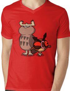 Owl mess you up! Mens V-Neck T-Shirt