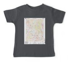 USGS TOPO Map California CA Tower Peak 295508 2001 24000 geo Baby Tee