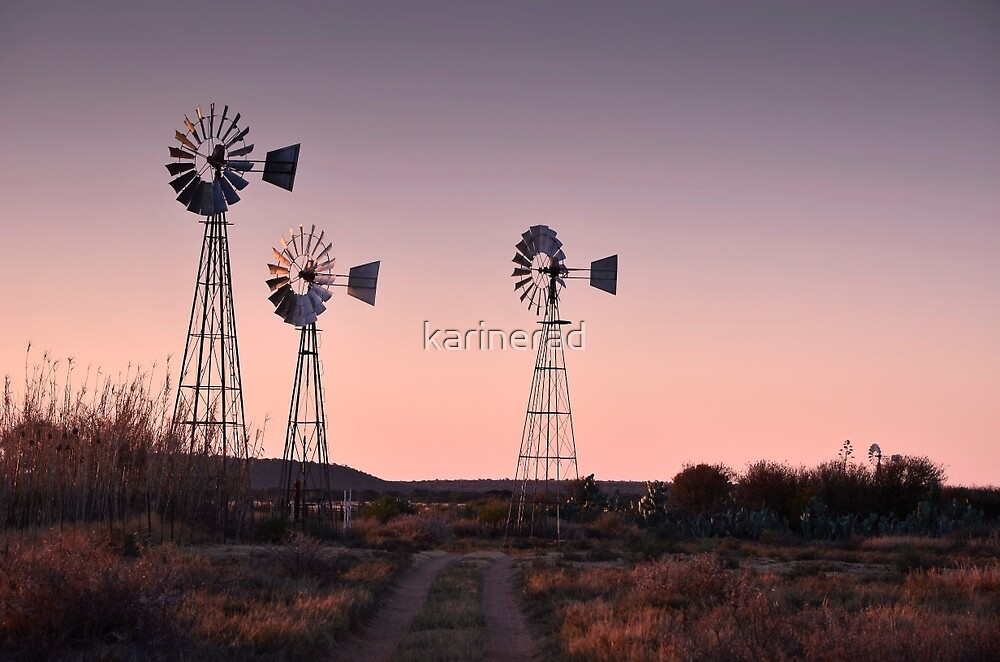 Evening on the Farm by Karine Radcliffe