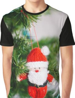 knitted santa Graphic T-Shirt