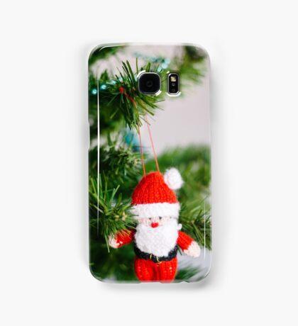 knitted santa Samsung Galaxy Case/Skin