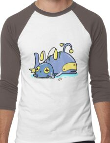 Chubby whales Men's Baseball ¾ T-Shirt