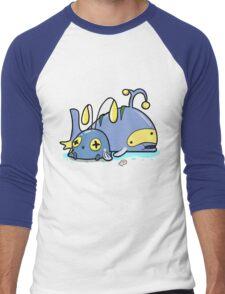 Chubby whales Men's Baseball ¾ T-Shirt