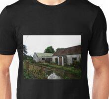 Abandoned Cottage on a Rainy Day, Donegal, Ireland Unisex T-Shirt
