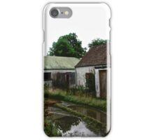 Abandoned Cottage on a Rainy Day, Donegal, Ireland iPhone Case/Skin