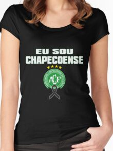 Tribute to chapecoense Women's Fitted Scoop T-Shirt