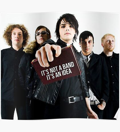 MY CHEMICAL ROMANCE TOUR 2016 SAIALAURA LS TWO Poster