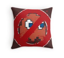 pacbusters Throw Pillow