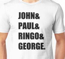 Beatles-Name rock band Unisex T-Shirt