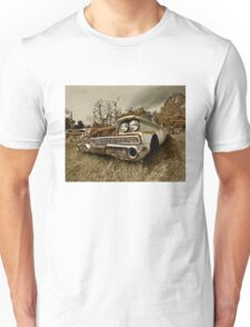 Abandoned 1959 Ford Galaxie 500 Unisex T-Shirt