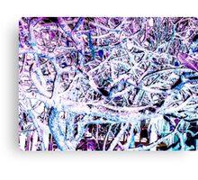 Tropical Tree Tangle - Rev Canvas Print