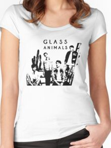 Glass Animals - BAND Women's Fitted Scoop T-Shirt