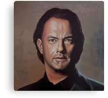 Tom Hanks Painting Canvas Print