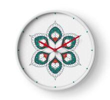 White Hearts Clock