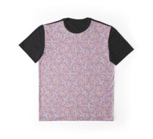 Swirling Complex Pattern in Pink Graphic T-Shirt