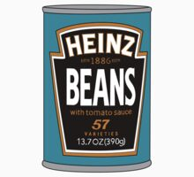 Retro Heinz Baked Beans Can PopArt Kids Tee