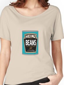 Retro Heinz Baked Beans Can PopArt Women's Relaxed Fit T-Shirt