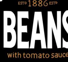 Retro Heinz Baked Beans Can PopArt Sticker