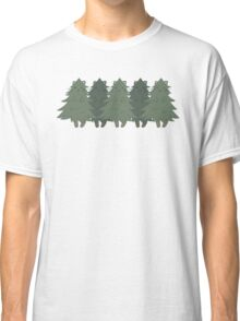 Fur Trees Classic T-Shirt