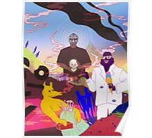 MF DOOM, Quasimoto and Captain Murphy Poster