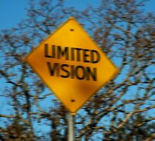 SIGNS VERSION TWO>>LIMITED VISION SIGN CAPTURED--PICTURE AND OR CARD by ✿✿ Bonita ✿✿ ђєℓℓσ