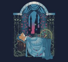 The Sleeping Rose - Blue Dress Kids Clothes