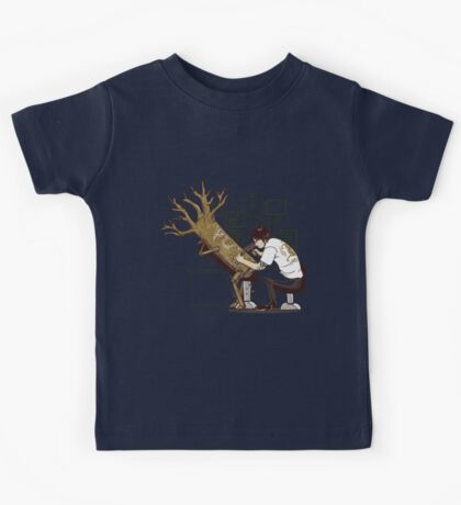 The Wood With The Dragon Craving Kids Tee