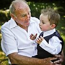 Talking to Grandpa by Adara Rosalie