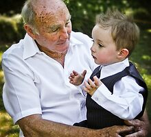 Talking to Grandpa by Adara Rosalie
