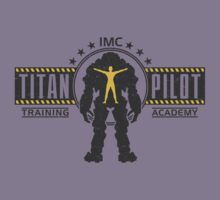Titan Pilot Training Academy Kids Tee
