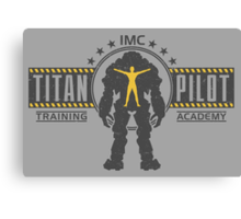 Titan Pilot Training Academy Canvas Print