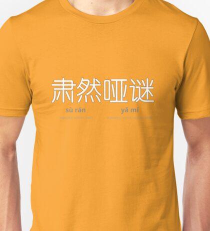 sù rán yǎ mí 肃然哑谜 T-Shirt