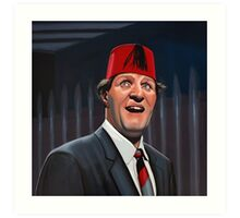 Tommy Cooper Painting Art Print