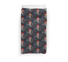 Tommy Cooper Painting Duvet Cover