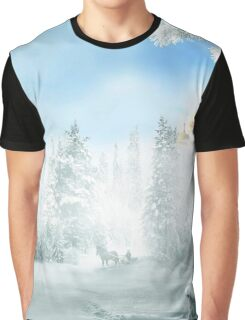 Winter Bench Graphic T-Shirt