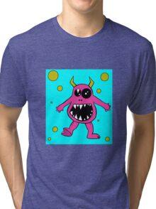 Massimo Monster Digital Artwork Tri-blend T-Shirt