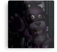 Creepy Staring Bonnie Metal Print