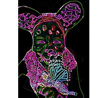 Crazy Girl BY ART AND SOUL MAMMA Photographic Print