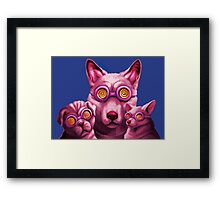 Dog Therapy Framed Print