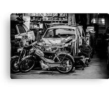 Garage... Canvas Print